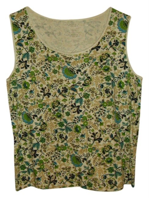 Preload https://item5.tradesy.com/images/white-stag-greensblueswhitetan-tank-topcami-size-16-xl-plus-0x-909094-0-0.jpg?width=400&height=650