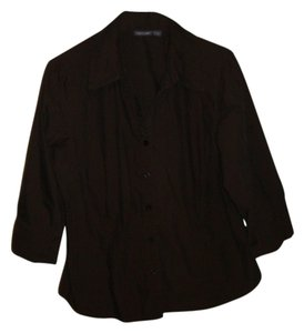 Apt. 9 Button Down Shirt chocolate brown