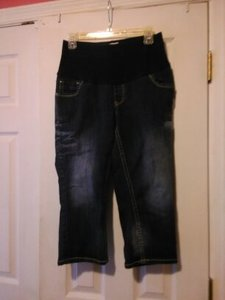 Paris Blues Paris Blues Maternity Capri Jeans Size Medium