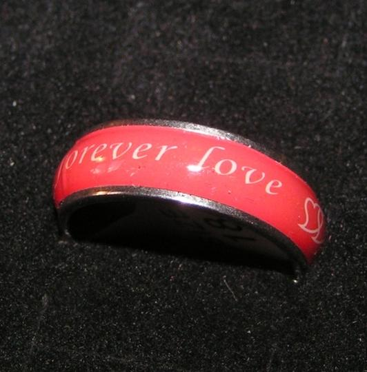 Silver/Red Bundle Bogo Free Your Choice Any 2 Listings Free Shipping Ring