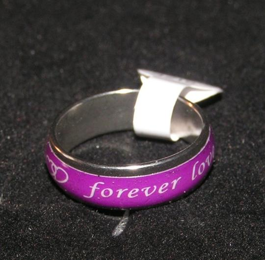 Silver/Purple Bogo Free Any Listing Gets Another Listing Free + Free Ship Ring
