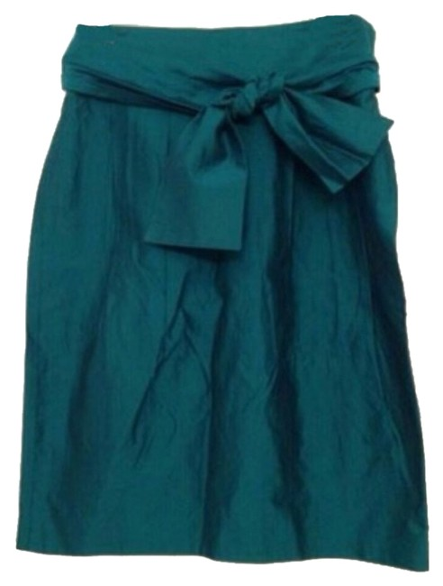 Preload https://item4.tradesy.com/images/moschino-teal-knee-length-skirt-size-8-m-29-30-9092803-0-2.jpg?width=400&height=650