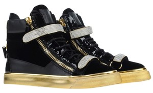 Giuseppe Zanotti Black/Gold Athletic