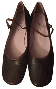 fc09f857ba72 Audley Black Crackled Leather Design Clear Sides Euro 38.5 Pumps ...