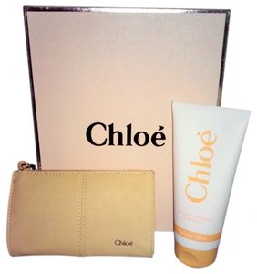 Chloé Cream Clutch