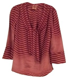 Tory Burch Top Red & tan