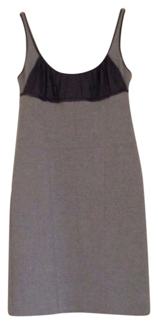 Preload https://img-static.tradesy.com/item/9094117/narciso-rodriguez-grey-knee-length-cocktail-dress-size-10-m-0-1-650-650.jpg