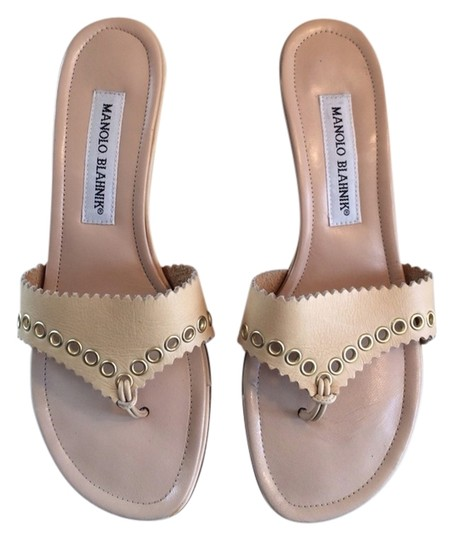 Preload https://img-static.tradesy.com/item/909418/manolo-blahnik-nude-camel-beige-leather-sandals-grommets-mulesslides-size-us-65-regular-m-b-0-0-540-540.jpg