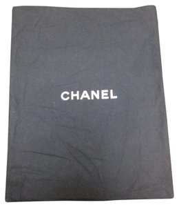 Chanel Chanel #3703 Open top Navy Dust Pouch Large 15 X 19 Tote Bag