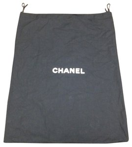 Chanel Chanel #3704 XL long drawstring Dust Pouch Large 18.5 X 23 Tote Bag