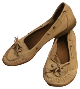 Aldo Tan Leather Flats