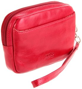 Hobo International Pansy In Wristlet in Scarlet