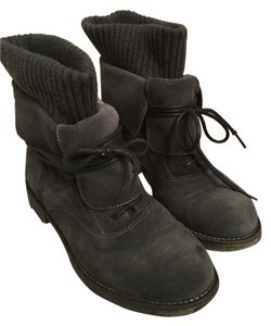 Boutique 9 9 Lace Up Size 6 Dark grey Boots
