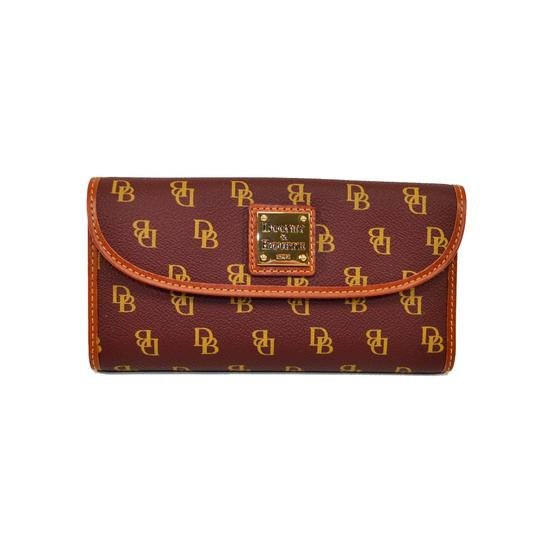 Preload https://item3.tradesy.com/images/dooney-and-bourke-bordeaux-gretta-continental-clutch-wallet-9095047-0-5.jpg?width=440&height=440