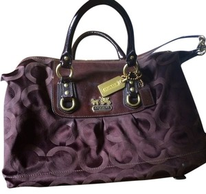 Coach Madison Handbag Satchel in Brown