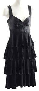 Laundry by Shelli Segal Ruffle Tiered Dress