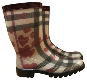Burberry Rain Boot Grey Tall Boots