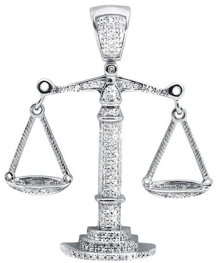 Preload https://img-static.tradesy.com/item/9095587/jewelry-unlimited-10k-white-gold-lucky-libra-weighing-scale-15-inch-diamond-pendant-charm-055ct-neck-0-2-540-540.jpg