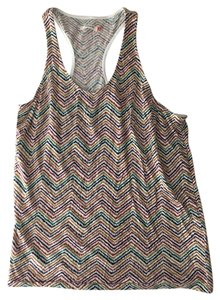Urban Outfitters Racerback Uo Top Multi-color