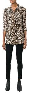 Equipment Silk Top leopard