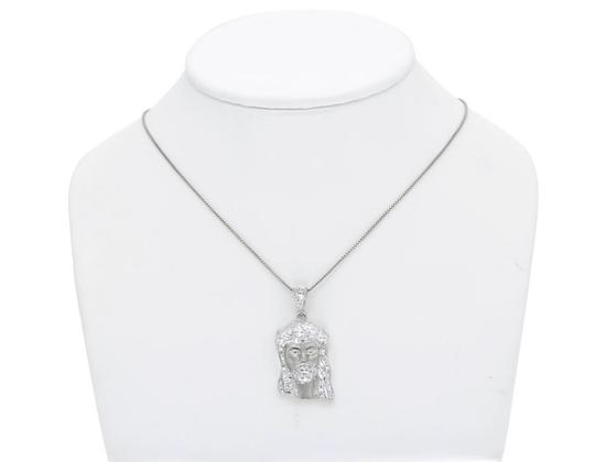 Jewelry Unlimited 10k White Gold Mens Ladies 1.25