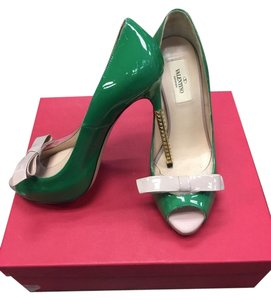Valentino green Platforms