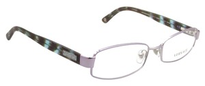 Versace Versace VE1176 1029 Lilac Striped Turquoise Womens Rx Eyeglasses