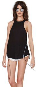 Nasty Gal Lace Sexy Date Top Black