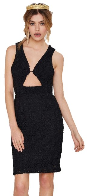 Nasty Gal Night Out Date Night Bodycon Lbd Dress