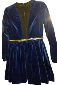 Alina German Velvet Party Dress