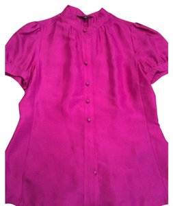 Banana Republic Button Down Shirt Fuschia
