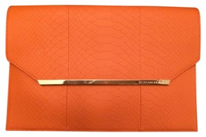 BCBGMAXAZRIA Orange Clutch