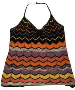 Missoni Multi Colored Halter Top