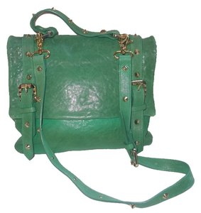 Balmain green Messenger Bag