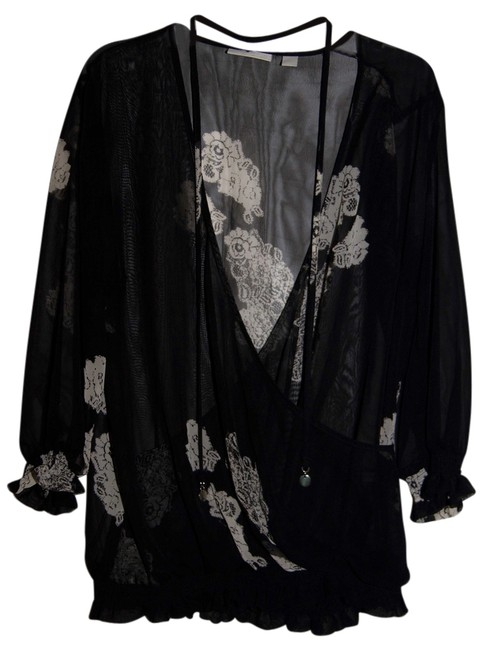 Preload https://item2.tradesy.com/images/new-york-and-company-black-sheer-blouse-size-4-s-909826-0-0.jpg?width=400&height=650