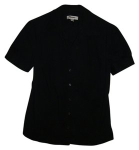 Merona Button Down Shirt black
