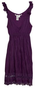 Max Studio short dress Plum on Tradesy