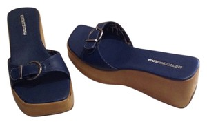 Charles David Blue Wedges
