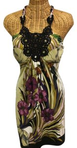 Hale Bob short dress Multi Xs Silk Floral on Tradesy