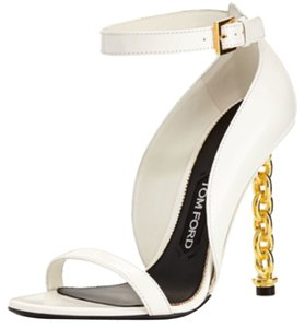 Tom Ford White Platforms