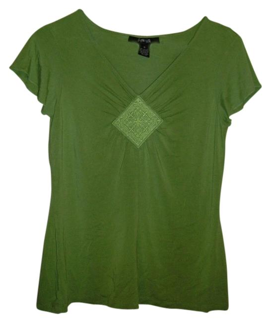 Style & Co Top green