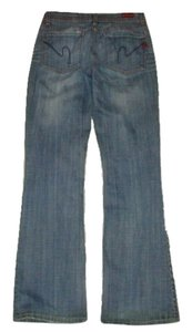 Citizens of Humanity Hippie Destroyed Distressed Bell Bottoms Coh Ingrid 002 Stretch Denim Flare Leg Jeans-Distressed