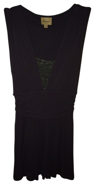 Preload https://item4.tradesy.com/images/ella-moss-gray-night-out-top-size-0-xs-909898-0-0.jpg?width=400&height=650