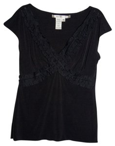 Max Studio T Shirt Black Embellished