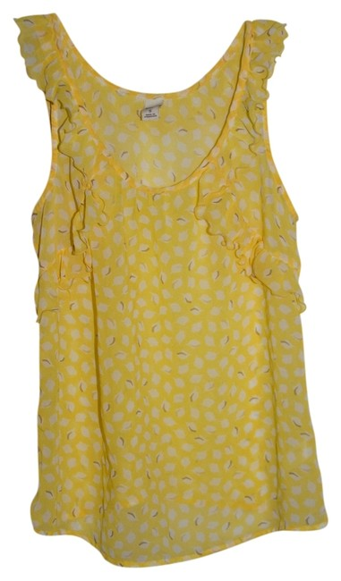 Preload https://item3.tradesy.com/images/old-navy-yellow-tank-topcami-size-4-s-909927-0-0.jpg?width=400&height=650
