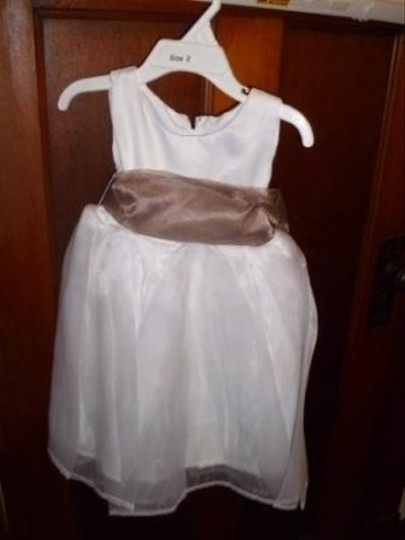 Barefoot Fairy White Flower Girl Dress Style 250