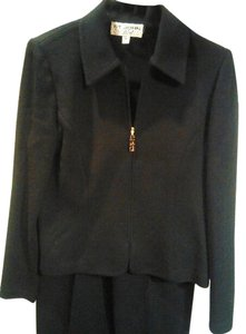 St. John St John Collection Black Knit Pants Suit