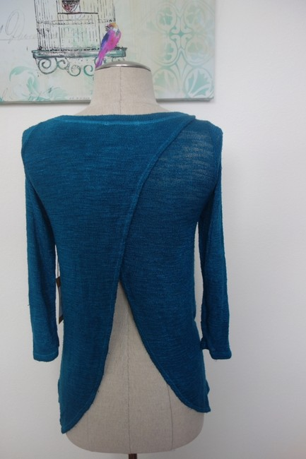LOLLY Peacock Blouse Sweater
