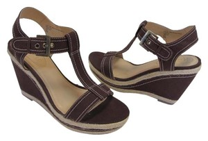 Nickels New Size 8.50 M Brown, Beige Wedges