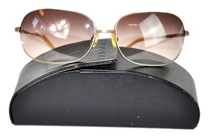 Oliver Peoples Oliver Peoples GALAXIE Women's Gold Frame Gradient Lens Sunglasses w/ Case